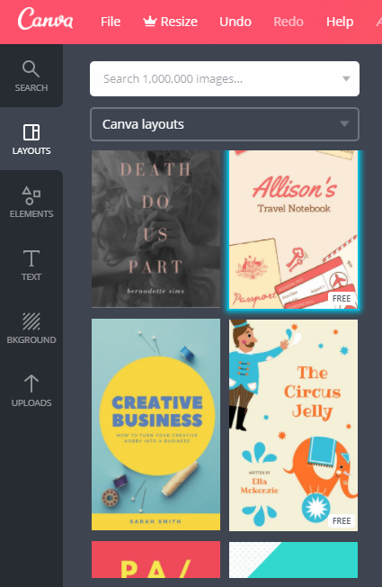 canva ebook circus
