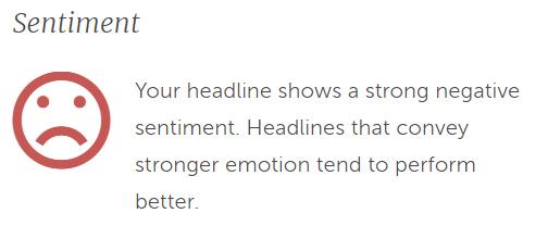 negative article