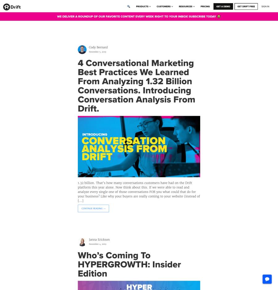 company business blog
