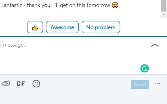 smart AI replies in marketing