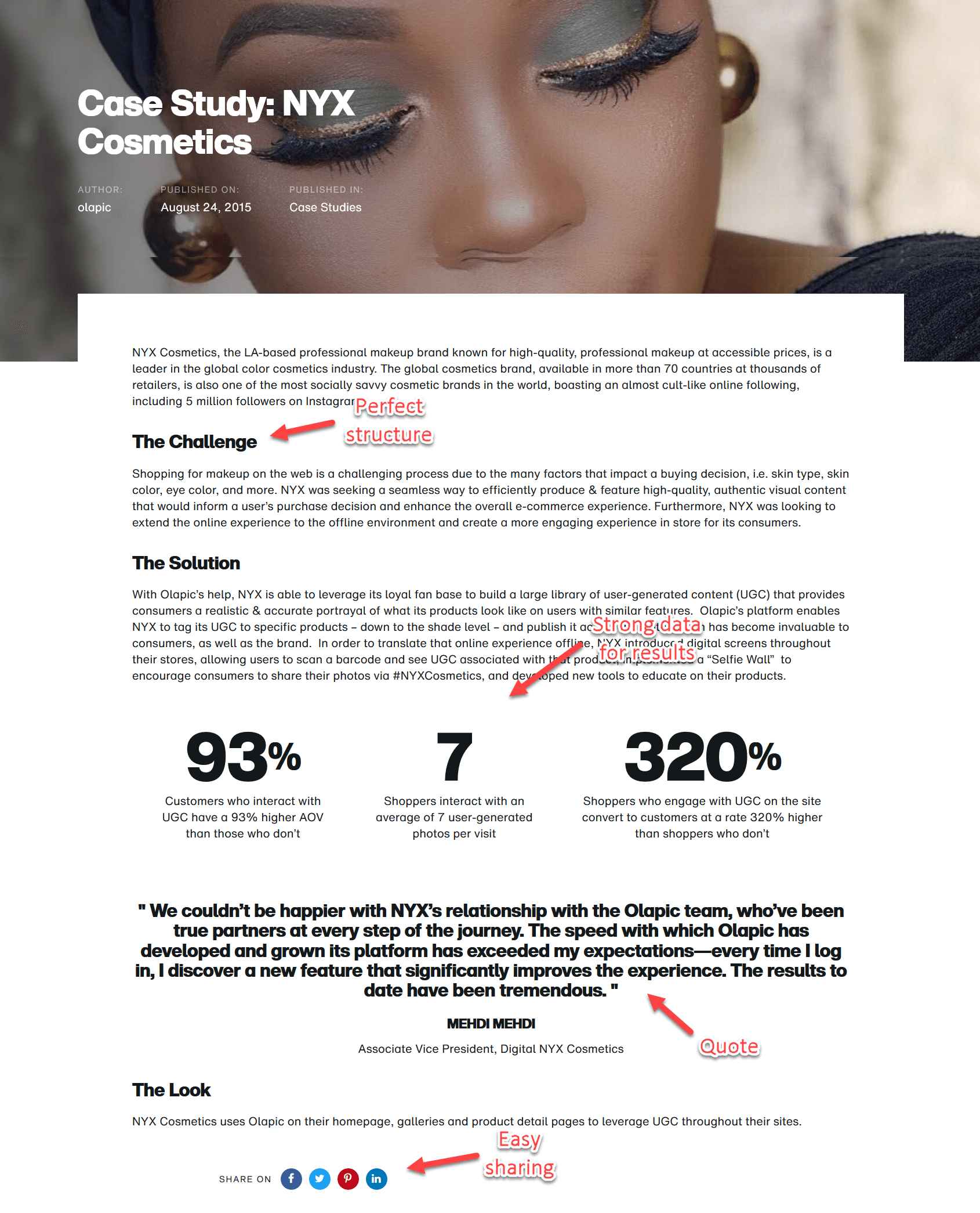 professional case study example