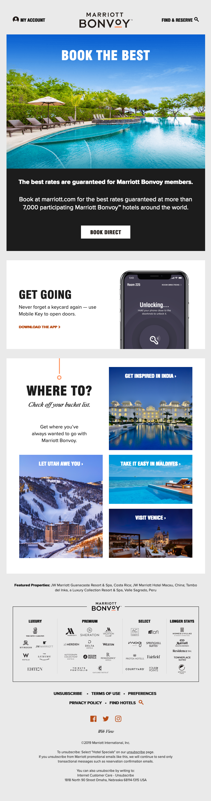 design email hotel