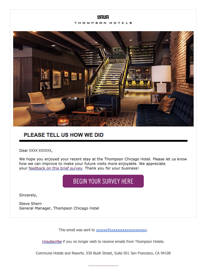 emails for hoteliers