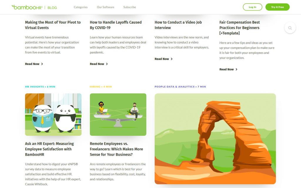 publish regular content