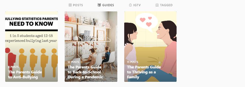 parents instagram guides